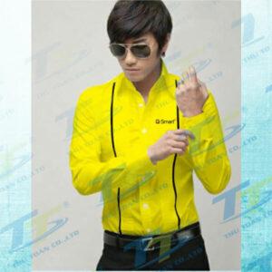 Dong phuc cong so - Ao so mi Q Mobile